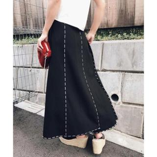 アメリヴィンテージ(Ameri VINTAGE)のステッチスカート(ロングスカート)