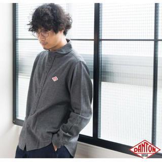 ダントン(DANTON)のDANTONダントン  ビエラ起毛ラウンドカラーシャツ 38(シャツ)