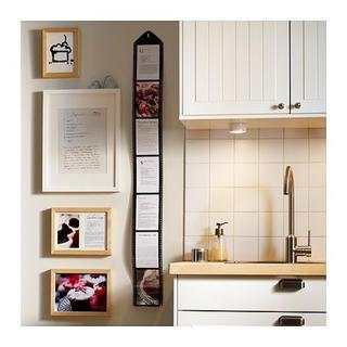 イケア(IKEA)のフィルム フォトフレーム インテリア モノクロ モノトーン 2個 セット(フォトフレーム)