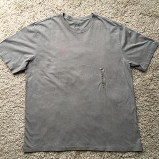 ギャップ(GAP)のGAP ☆ メンズ クルーネック グレー半袖Tシャツ XL 新品未使用品(Tシャツ/カットソー(半袖/袖なし))