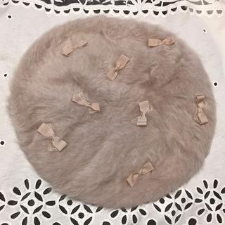 トッカ(TOCCA)の【4連休限定セール】 TOCCA*リボンベレー帽(ハンチング/ベレー帽)