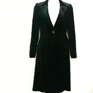 アナイ(ANAYI)のアナイ ベロアスーツ テーラードジャケット×スカートスーツ 送料無料(スーツ)
