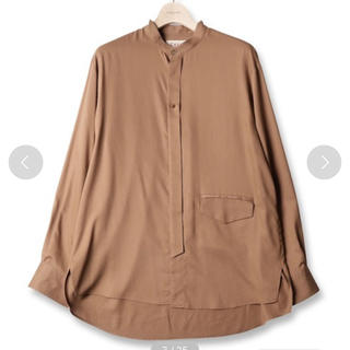 SHAREEF - cullni スタンドカラーシャツ 20ss