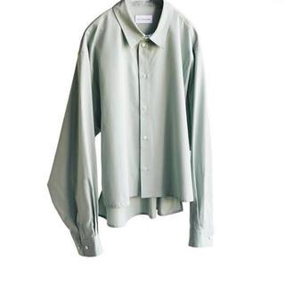 コモリ(COMOLI)のryo  takashima short wide shirt(シャツ)
