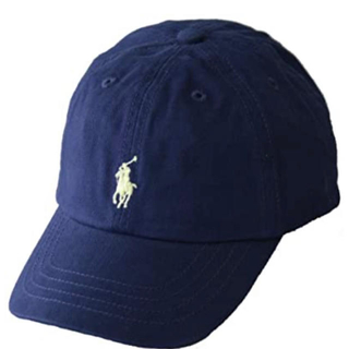 ラルフローレン(Ralph Lauren)の【新品未使用】キャップ ネイビー 帽子 ラルフローレン(キャップ)