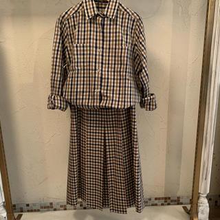 アクアスキュータム(AQUA SCUTUM)のふわり様専用 アクアスキュータム スカート(ロングスカート)
