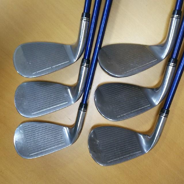 DUNLOP(ダンロップ)のゼクシオ 9ナイン アイアン  レディース  6本セット スポーツ/アウトドアのゴルフ(クラブ)の商品写真