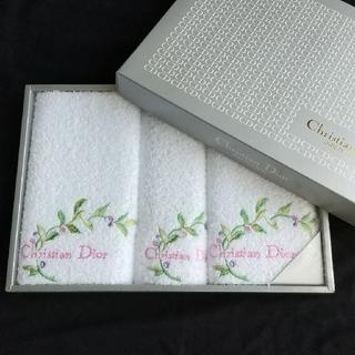 クリスチャンディオール(Christian Dior)のクリスチャン・ディオール Christian Dior タオル セット(タオル/バス用品)