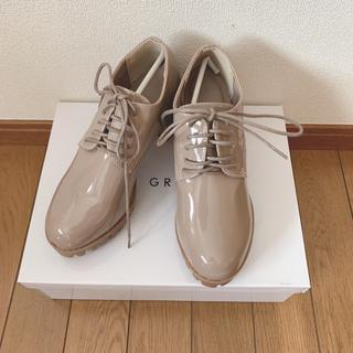グレイル(GRL)のGRL エナメルレースアップシューズ(ローファー/革靴)