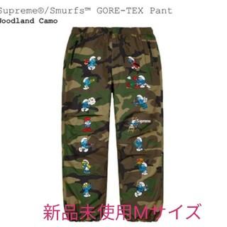 シュプリーム(Supreme)の新品20AW Supreme Smurfs GORE-TEX Pant Camo(ワークパンツ/カーゴパンツ)