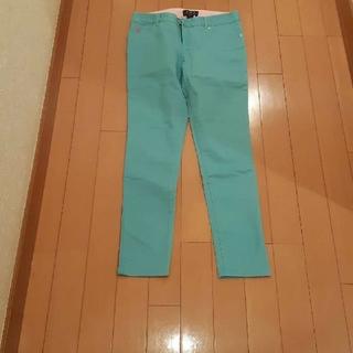 ラルフローレン(Ralph Lauren)のラルフローレンカラースキニーパンツターコイズブルー150サイズ(スキニーパンツ)