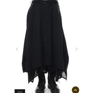 ヨウジヤマモト(Yohji Yamamoto)の18aw 蝙蝠スカートパンツ(その他)