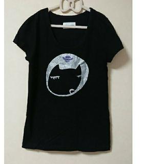 ツモリチサト(TSUMORI CHISATO)のツモリチサト Tシャツ 猫柄(Tシャツ(半袖/袖なし))
