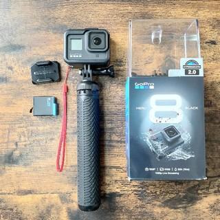 GoPro - GOPRO8 付属品付き ヨドバシで購入(品番CHDHX-801-FW)