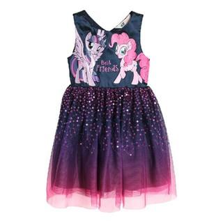 エイチアンドエム(H&M)のH&M90㎝マイリトルポニースパンコールチュールワンピース(ドレス/フォーマル)