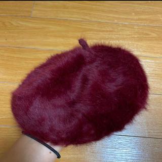 アルピーエス(rps)のrps ファー ベレー帽(ハンチング/ベレー帽)