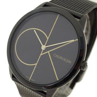 カルバンクライン(Calvin Klein)のカルバン クライン CALVIN KLEIN 腕時計 メンズ クォーツ ブラック(腕時計(アナログ))