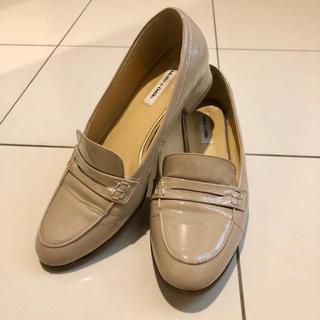 オデットエオディール(Odette e Odile)の元値約2万 晴雨兼用 OdetteeOdile 24cm ローファー ベージュ(ローファー/革靴)