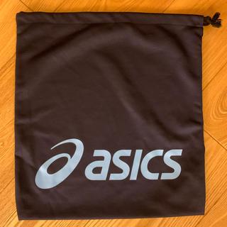 アシックス(asics)のアシックス  巾着袋 ネイビー(その他)