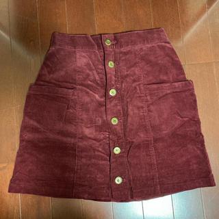 ウィゴー(WEGO)のWEGO コーデュロイスカート(ひざ丈スカート)