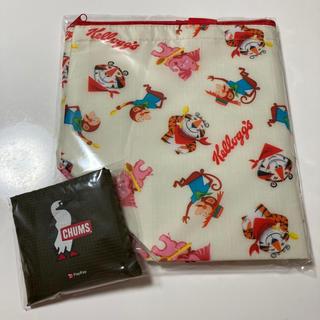 CHUMS - 《新品、未使用》ケロッグ保冷バッグ、チャムスエコバッグ 2点セット