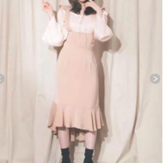 バブルス(Bubbles)のandMary ブラウス スカート セット(ひざ丈スカート)