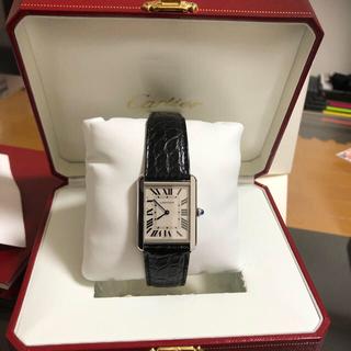 カルティエ(Cartier)のカルティエ タンクソロ LM(腕時計(デジタル))