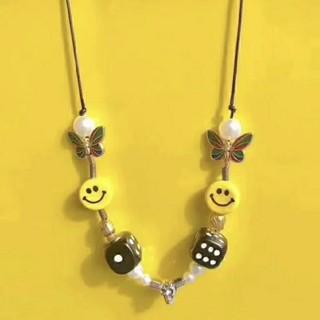 キャピタル(KAPITAL)のEVAE SMILEY NECKLACE サルーテ 新品未使用❤️(ネックレス)