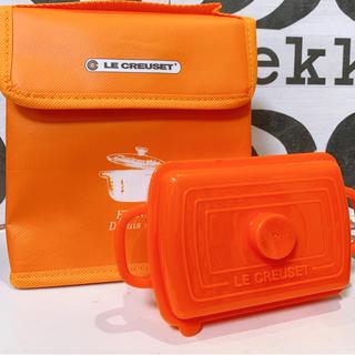 ルクルーゼ(LE CREUSET)のル・クルーゼ フ-ドボックス&保冷ト-ト オレンジ(弁当用品)