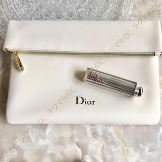 クリスチャンディオール(Christian Dior)の【新品箱なし】ディオール クラッチ クラッチバッグ 折りたたみポーチ 非売品(クラッチバッグ)