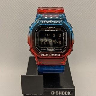 ジーショック(G-SHOCK)のG-SHOCK DW-056改 海外モデル レッド&ブルー(腕時計(デジタル))