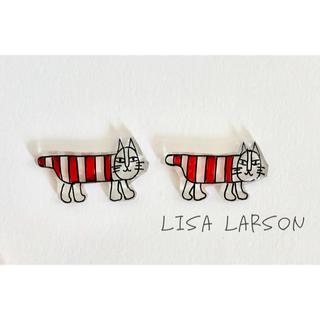 リサラーソン(Lisa Larson)のリサラーソン ネコ ピアス(ピアス(両耳用))