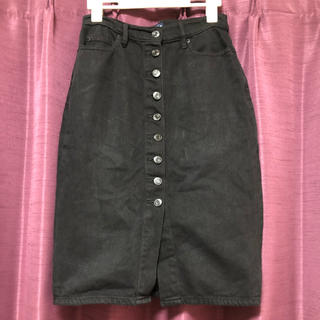 ギャップ(GAP)のGAP前ボタンデニムスカート♡(ひざ丈スカート)