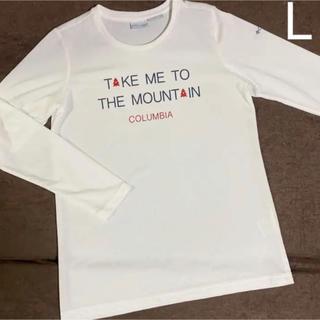 コロンビア(Columbia)のみなも様専用 OMNI-WICK コロンビア 白のロンT(Tシャツ(長袖/七分))