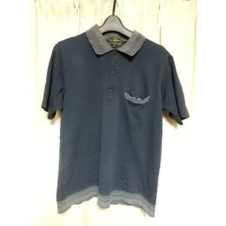 エゴトリッピング(EGO TRIPPING)のEGO TRIPPING 半袖 ポロシャツ サイズ46 濃紺 エゴトリッピング(ポロシャツ)