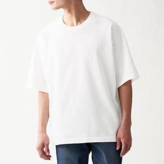 ムジルシリョウヒン(MUJI (無印良品))の無印 丈夫で洗えるニットTシャツ(Tシャツ/カットソー(半袖/袖なし))