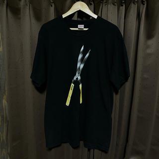 シュプリーム(Supreme)のsupreme 19ss shears tee 黒 L(Tシャツ/カットソー(半袖/袖なし))