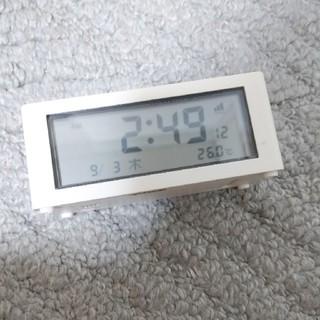ムジルシリョウヒン(MUJI (無印良品))の無印大音量アラーム時計(置時計)