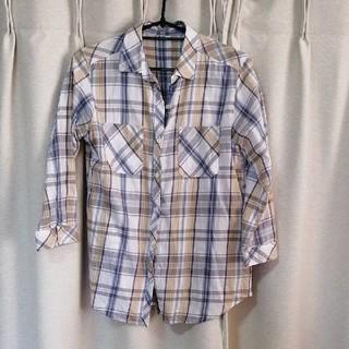 イーハイフンワールドギャラリー(E hyphen world gallery)のイーハイフンワールドギャラリー チェックTシャツ(シャツ/ブラウス(半袖/袖なし))