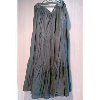 アニエスベー(agnes b.)のアニエスベー マキシ丈ティアードスカート スカート(ロングスカート)
