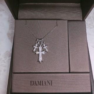 ダミアーニ(Damiani)のシルバートリプルクロスネックレス✨有名人愛用(ネックレス)
