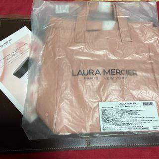 ローラメルシエ(laura mercier)のお値下げ...  可愛い   ローラ メルシエ 特製トートバッグ(ブラッシュ)(トートバッグ)