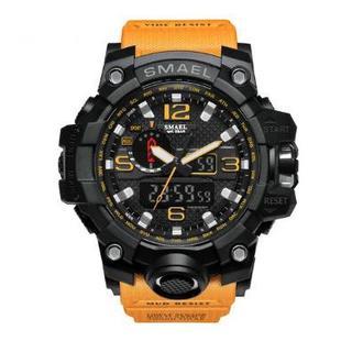 SMAEL 1545 スポーツウォッチ(オレンジ)(腕時計(デジタル))