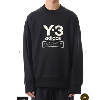 Y-3 - 【美品!レアサイズ!】Y-3Stacked Logo Crew sweater