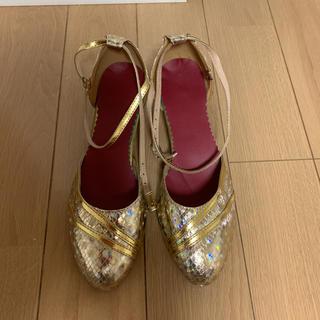 社交ダンスシューズ新品24cm(ハイヒール/パンプス)