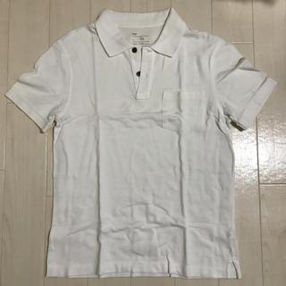ギャップ(GAP)のGap ポロシャツ 白 ホワイト(ポロシャツ)