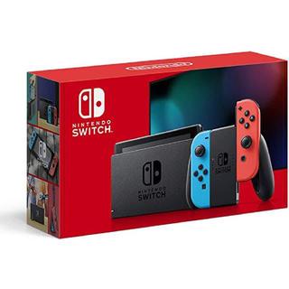 ニンテンドースイッチ(Nintendo Switch)の新品 未使用 Nintendo Switch  本体  Joy-Conネオン(家庭用ゲーム機本体)
