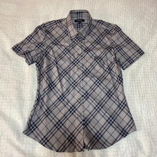 バーバリー(BURBERRY)のバーバリー 半袖シャツ チェックシャツ(シャツ/ブラウス(半袖/袖なし))