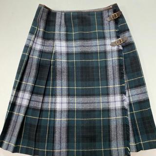 ドゥファミリー(DO!FAMILY)のドゥファミリー 巻きスカート チェック(ひざ丈スカート)