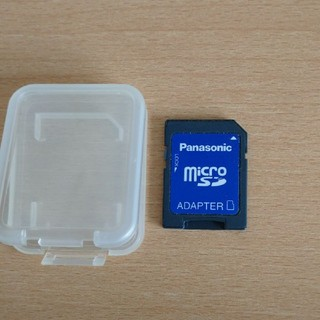 Panasonic - Panasonic microSDカードアダプター